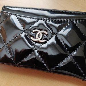 Chanel VIP Patent Card Holder